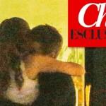 Emanuele Filiberto abbraccia Emilie Pastor