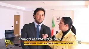 Enrico Maria cutugno - Agcom - Striscia La notizia