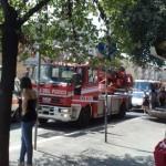 Esplosione sulla Tuscolana palazzo sventrato