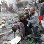 morti 7 bambini palestinesi