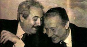 Giovanni Falcone Paolo Borsellino magistrati assassinati nel 1992