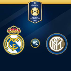 Guinness Cup Real Madrid vs Inter