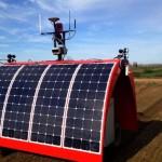 Ladybird robot agricolo fotovoltaico