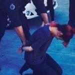Lily Allen finto arresto
