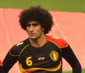 Fellaini del Man Utd