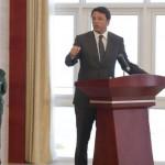 Matteo Renzi in Mozambico
