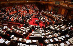 Parlamento italiano impegnato nell'approvazione della riforma della PA