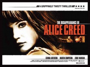 La scomparsa di Alice Creed su Rai3