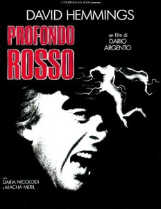 Profondo Rosso di Dario Argento