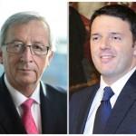 RENZI-JUNCKER trattativa sull'Alto Rappresentante alla commissione europea