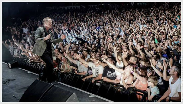 Simple Minds R101 radio ufficiale The Greatest Hits Tour