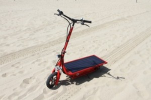 Solar Electric Scooter monopattino solare
