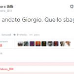 Tweet grillina Debora Billi