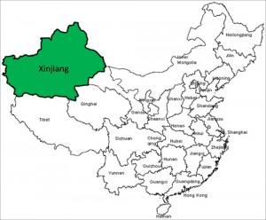 regione dello Xonjiang