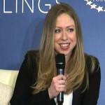 Chelsea Clinton 75 mila dlr a discorso