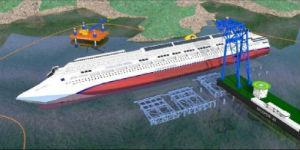 rigalleggiamento Costa Concordia Isola del Giglio