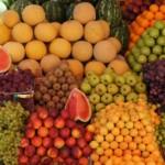 frutta e verdura per l'abbronzatura