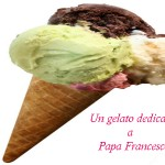 gelato in onore papa Francesco, Liguria