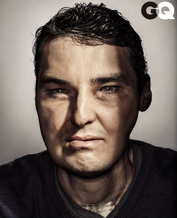 Richard sulla copertina di GQ con il suo nuovo volto