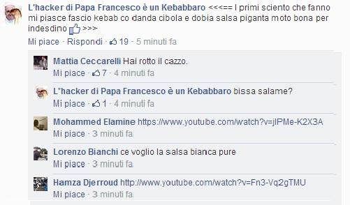 hacker papa francesco