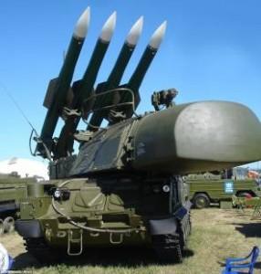 missili in zona di guerra