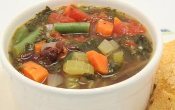 Dieta del minestrone, come dimagrire 5 kg in 7 giorni