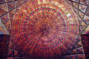 Nasir al-Mulk  moschea rosa Shiraz