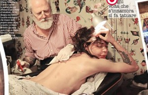 nina moric tatuaggio marco sireci