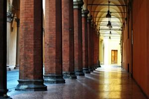 portici di Bologna strisce pedonali
