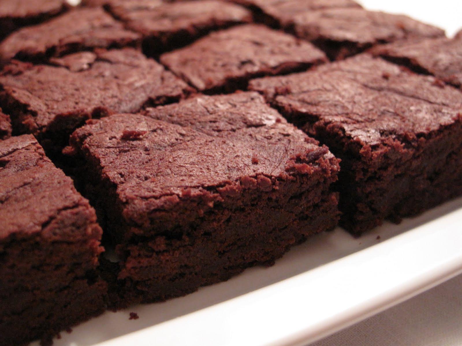 Ricette dolci il brownie al cioccolato fondente di for Ricette dolci