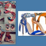 tutorial creare scarpe foulard moda estate 2014