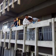 caduta balcone