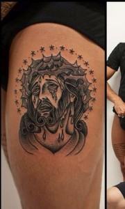 tatuaggio de martino gesù