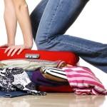 fare valigia, 8 regole