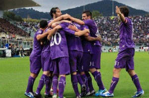 il team Fiorentina