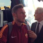 Francesco Totti dell'AS Roma