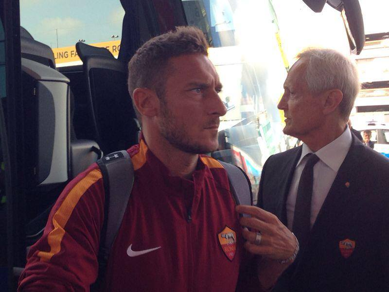 Francesco Totti dell'AS Roma