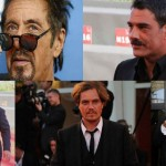 Mostra del cinema di Venezia 2014 i baffi più trendy red carpet