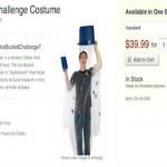 costume halloween ice bucket challenge