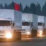Convoglio umanitario russo in Ucraina