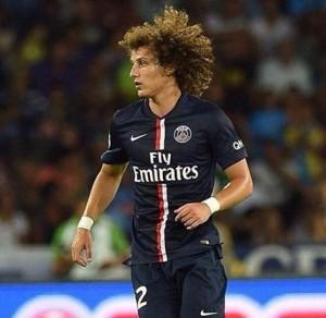 David Luiz del PSG