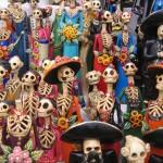 Dia de los Muertos tema di tatuaggi
