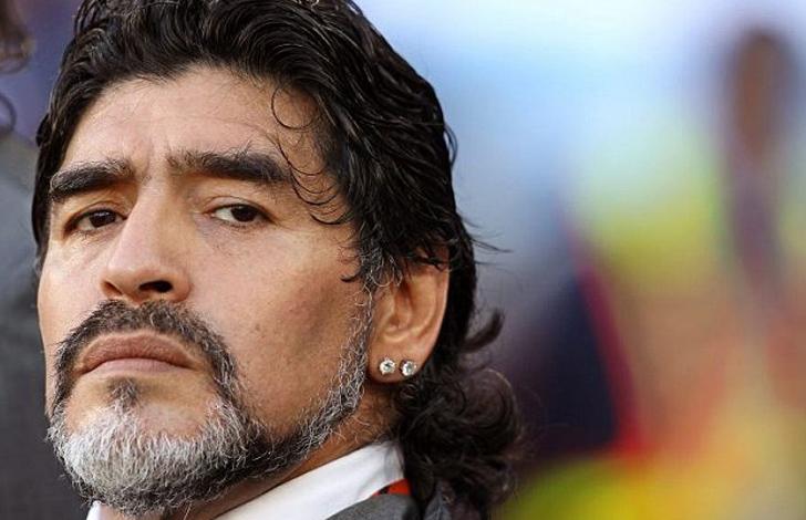 Maradona aggressione fidanzata