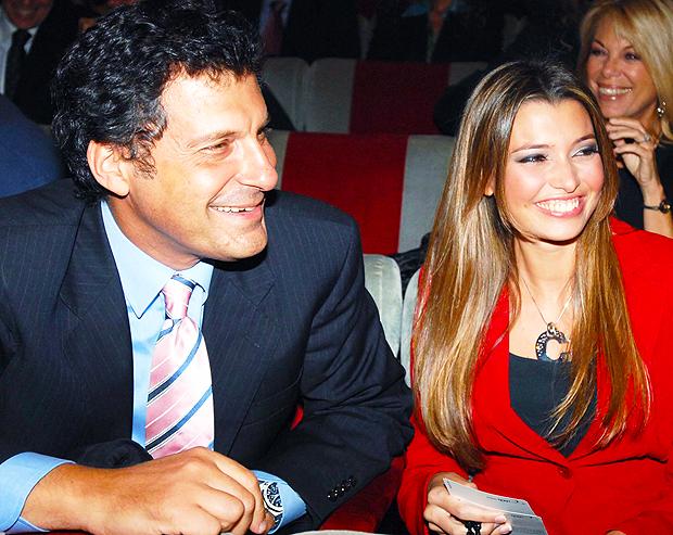 Frizzi presto convolerà a nozze con la compagna Mantovan