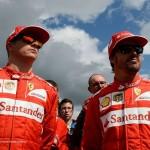 Raikkonen e Alonso