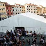 festival mente e creatività tendone a Sarzana 2014