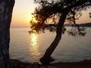 Grecia tramonto