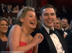 Jennifer Lawrence e Nicholas Hoult