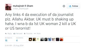 Kadijah Dare prima donna inglese jidhaista a volere uccidere un occidentale