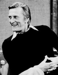 Kirk Douglas su La7
